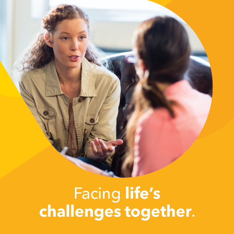 Support for life challenges
